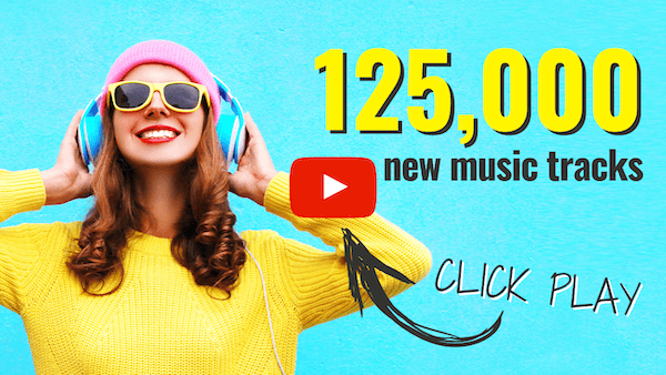 125,000 New Music Tracks Now LIVE In Content Samurai